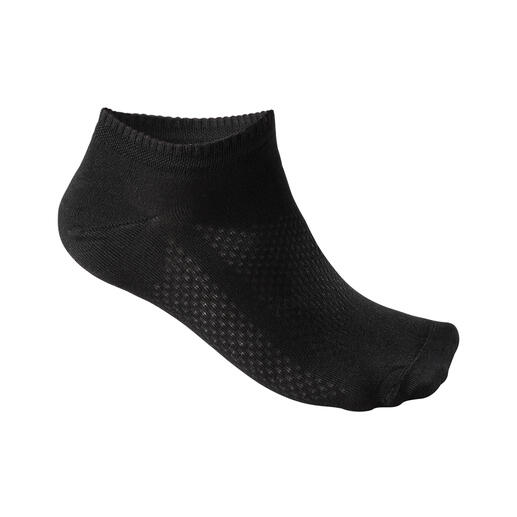 Sneaker socks, Men, Black