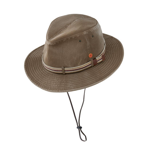 Mayser Travel Hat Lightweight, crushable, washable and with UV protection 80. By Mayser. German millinery since 1800.