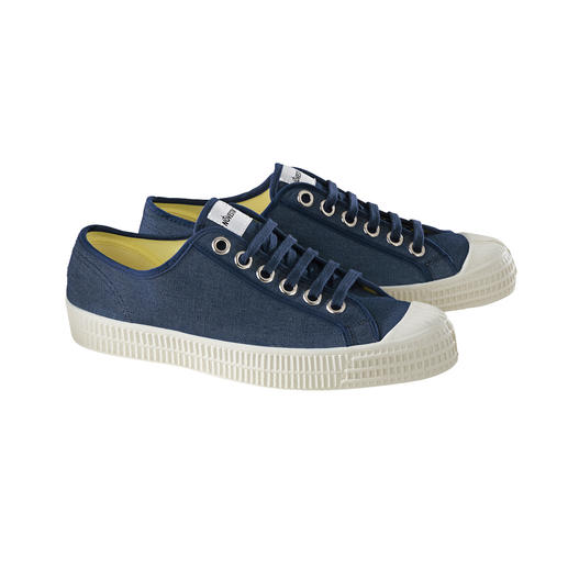"Canvas Star Master Sneakers Handmade since 1939: Slovakian ""Star Master"" sneaker classic by Novesta."