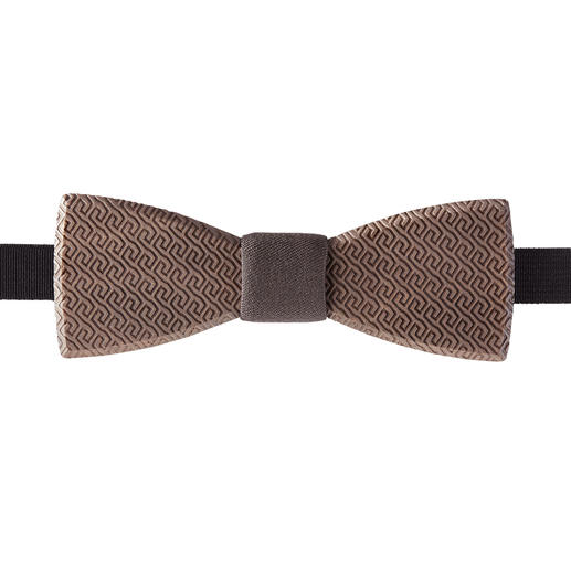 Bewooden Wooden Bow Tie Sustainable wood and an elaborate pattern make this bow tie a cool eye-catcher.