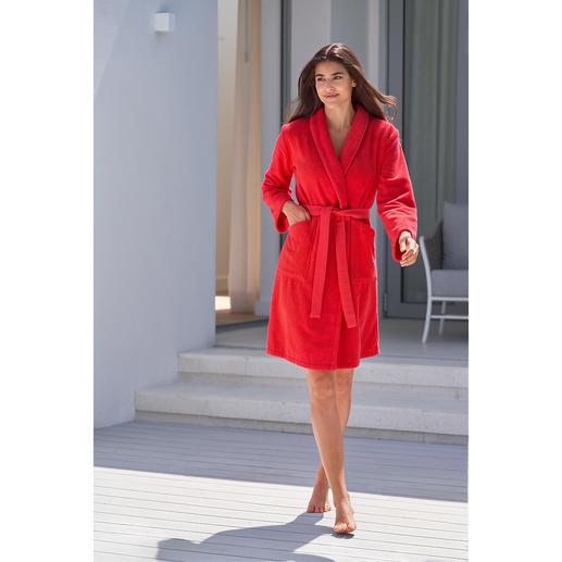 Kenzo Tiger Bathrobe Comfortable towelling bathrobe? Or a fashionable designer piece? Both. By Kenzo/Paris.