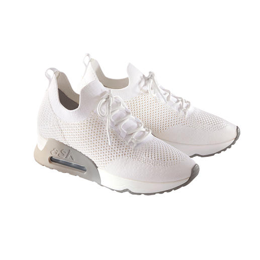 Ash Knit Trainers, White High-class design from a trend label – yet affordable. The knit trainers by Ash.