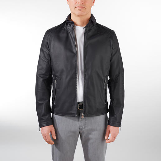Heinz Bauer Limited Edition Leather Blouson Jacket