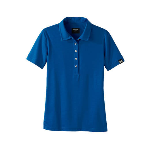 Reda Rewoolution Women's Polo Shirt or Shorts Merino wool: Scratch-free, silky and with all the advantages you'd expect from high-performance material.