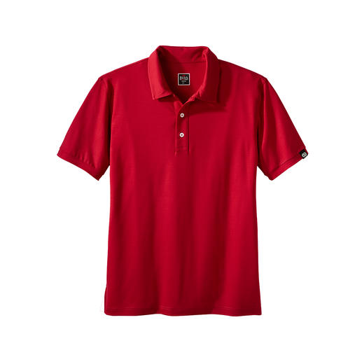 Reda Rewoolution Men's Polo Shirt or Shorts Merino wool: Scratch-free, silky and with all the advantages you'd expect from high-performance material.