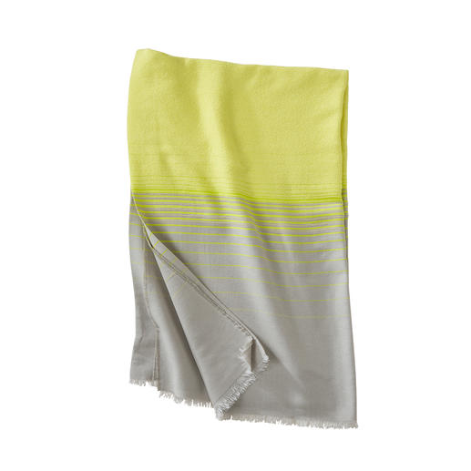 Abstract Bouclé Beach Towel, Yellow Soft to lie on and without being heavy to carry. The lightweight bouclé beach towel by Abstract, Italy.