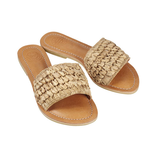 Bali-BAli® Braided Mule Fashion goes Fair Trade: The handmade braided mules from Bali-BAli®.