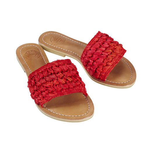 Fashion goes Fair Trade: The handmade braided mules from Bali-BAli®. Fashion goes Fair Trade: The handmade braided mules from Bali-BAli®.