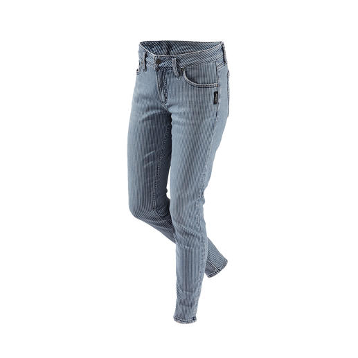 Silver Striped Skinny Jeans Original Silver Jeans from Canada: Perfect fit. Distinctive style.