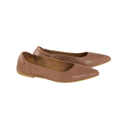 Marta Ray Soft Ballerinas, smooth leather Almost like being barefoot: The Sacchetto ballerinas by Marta Ray, Italy.