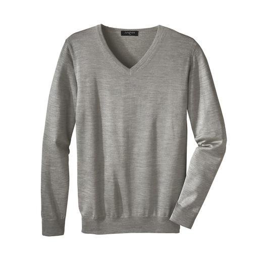 V-neck, Grey