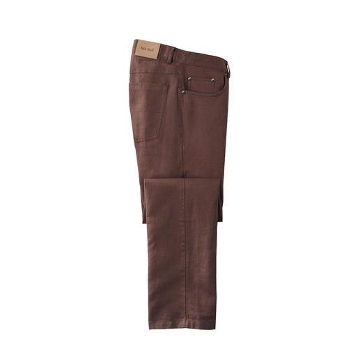 Ramie Trousers Summer trousers made of rare ramie. Airy as linen, but smoother, lighter and more elegant.