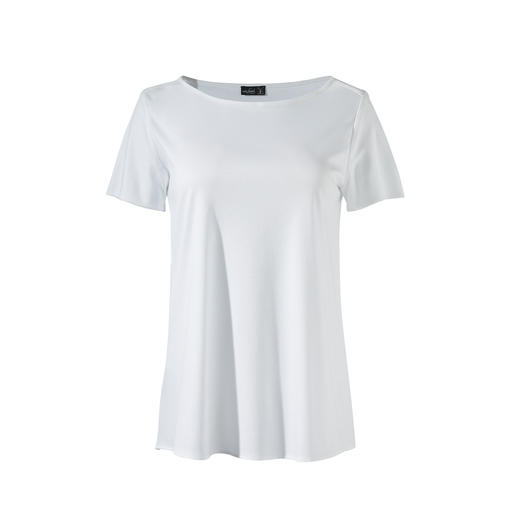 van Laack Pleated Top More elegant and feminine than a top. More casual than a blouse. By van Laack.
