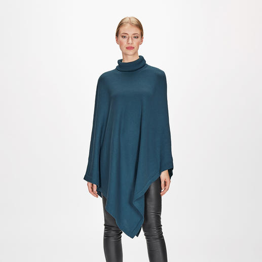 Fine Knit Pima Cotton Poncho Pima cotton and fine silk make this poncho really light, soft and great for summer.