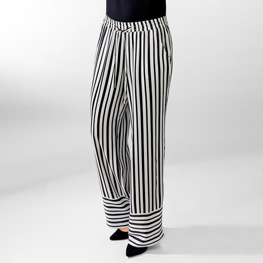 Striped Palazzo Trousers Perfect summer trousers – for both beach holidays and smart restaurants.