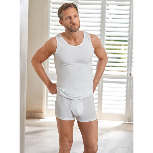 Wolff Coolmax® Vest or Briefs The freshness secret of this underwear: Climatic comfort by Coolmax®. By Wolff/Austria.