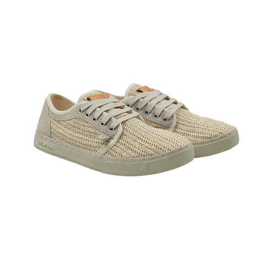 Satorisan Braided Trainer Super comfortable. Super soft. And ultra light: The airily woven summer trainers from Satorisan, Spain.