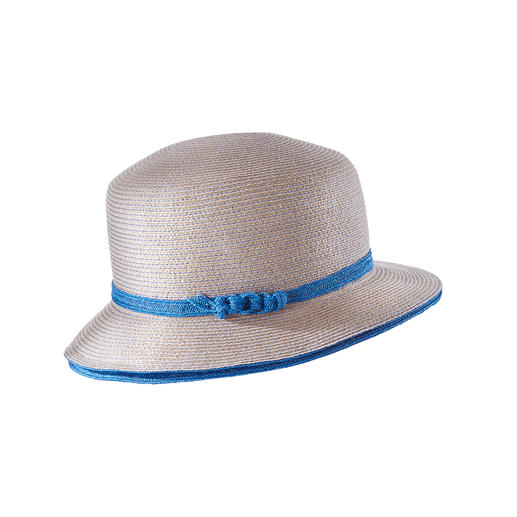 Mayser Linen/hemp Cloche A classic for 100 years. Now finally suitable for summer. (And pleasantly hard-wearing.)