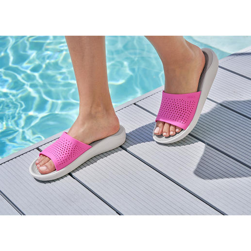 Crocs™ LiteRide™ Women's Pool Shoes The new LiteRide™ collection is 40% softer, 25% lighter, etc.