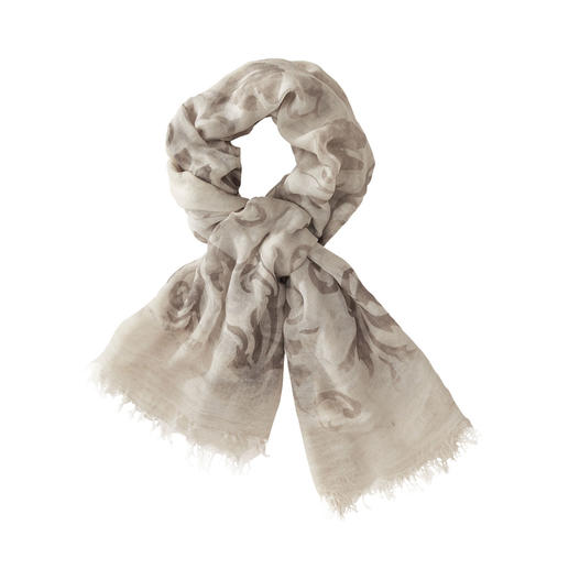 Ancini Vintage Scarf The pleasantly soft and brilliantly coloured version of fashionable vintage scarves. By Ancini.