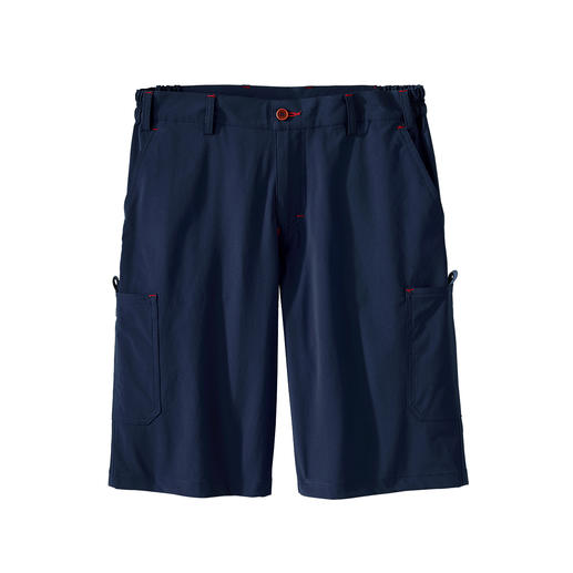 Functional cargo bermuda shorts, Men Pleasantly light. 2-way stretch. Quick-drying. For men and women.