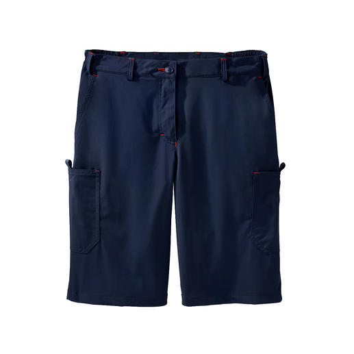 Functional cargo bermuda shorts, Women Pleasantly light. 2-way stretch. Quick-drying. For men and women.