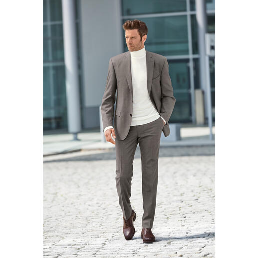 Carl Gross Super 120 Flannel Trousers or Sports Jacket Finer and lighter than many often rustic, heavy flannel suits – but just as warm.