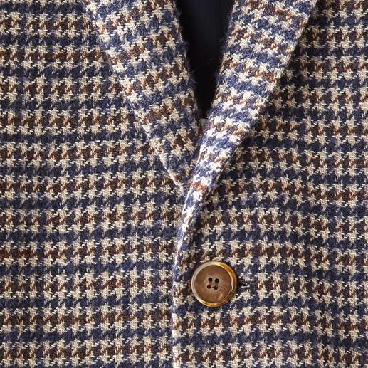 Houndstooth Bouclé Sports Jacket