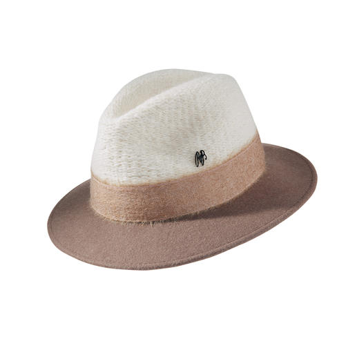 Raffaello Bettini Fedora The stylish, perfectly sitting fedora by hatter Raffaello Bettini/Florence, since 1938.