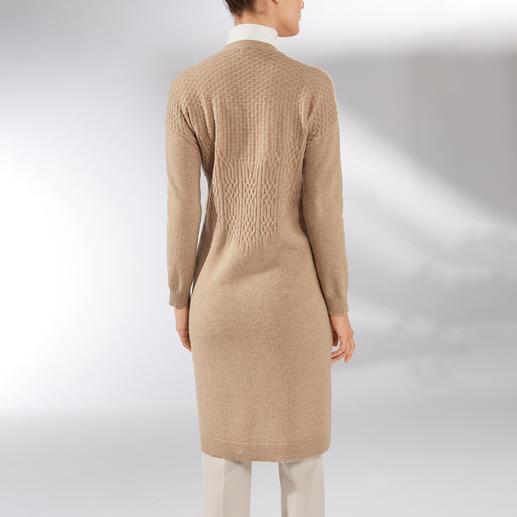 Long Baby Alpaca Wool Cardigan