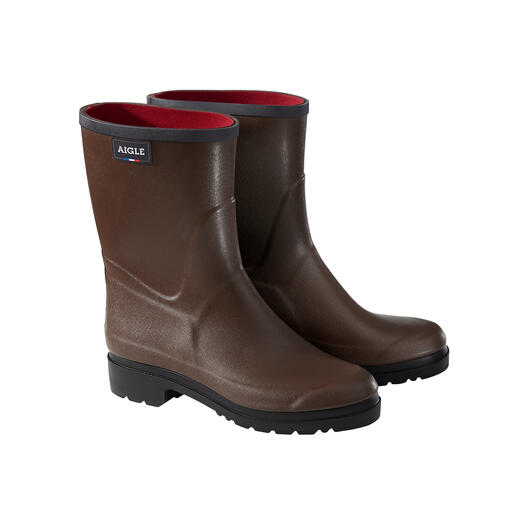 Aigle Wellingtons Latest edition: Now with ultra-thin, soft warm neoprene lining. By Aigle, since 1853.