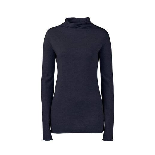 Turtleneck, Dark blue