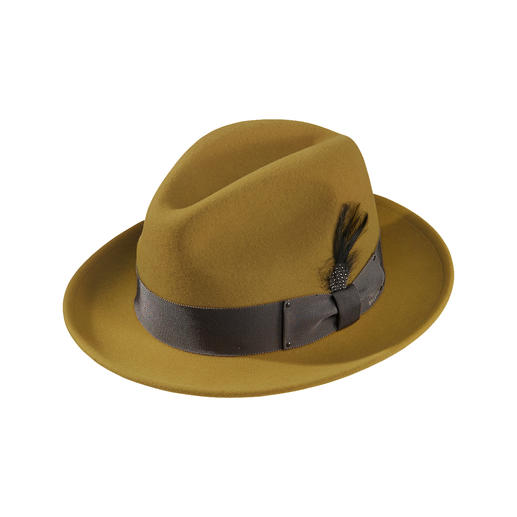 Bailey of Hollywood Wollwalk Fedora The time-tested weather proof Wollwalk Fedora – in the trendy colours of the season.