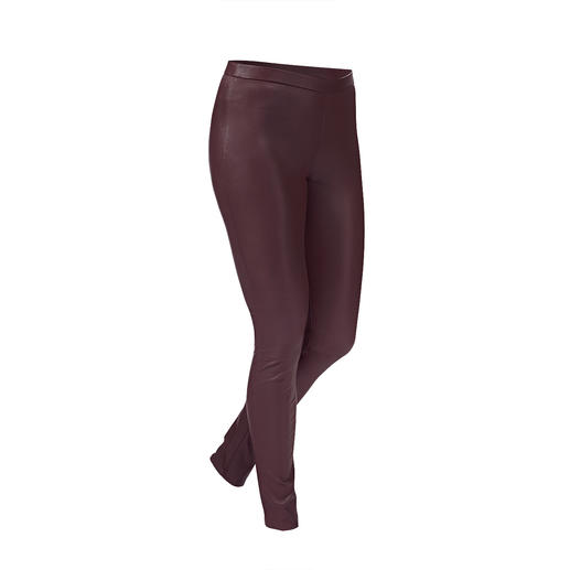 Depeche Stretch leather leggings Tight fit but still super comfortable: The stretch leather leggings from Danish leather specialist Depeche.