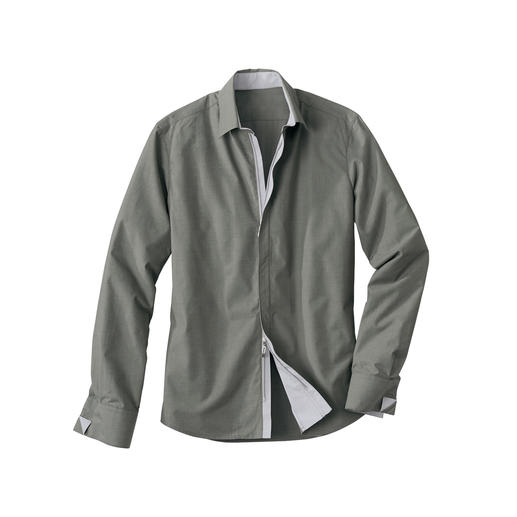 Zip-Off Coolmax Shirt - Business shirt 2.0: The feeling of pure cotton with the climate comfort of Coolmax®.