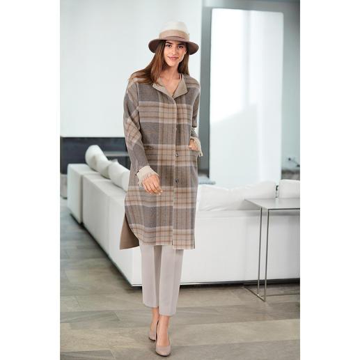 Steinbock Oversize Check Coat