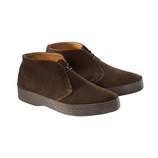 Sanders Suede Chukka Boots Cult footwear from the sixties that is now bang on-trend: Original chukka boots.