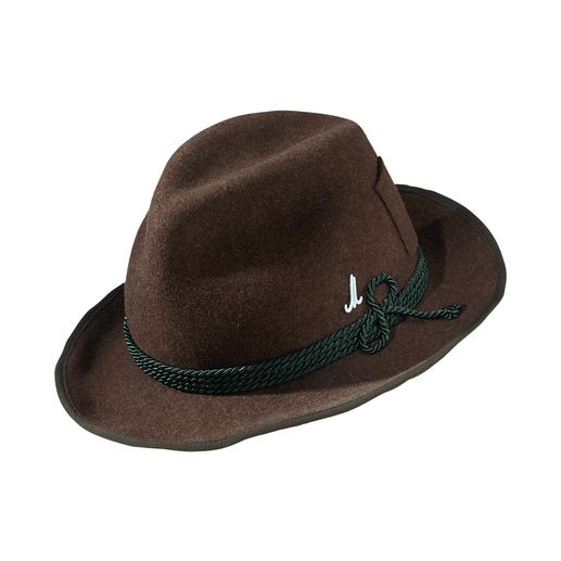 Mühlbauer Felt Travel Hat Your elegant, versatile hat for every day: Made of lightweight wool felt, with a wide brim in travel style.