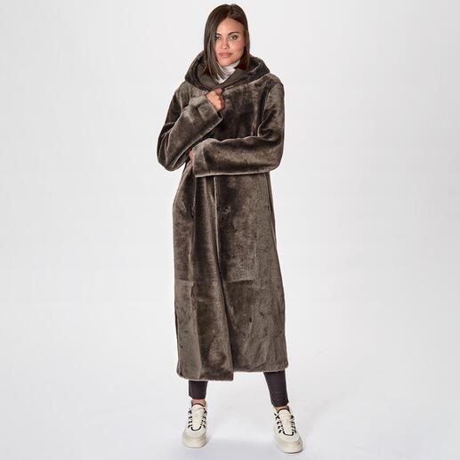 Wunderfell reversible lambskin coat