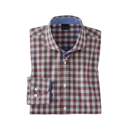 Dorani Tartan Check Shirt Authentic tartan shirts are rarely this fine and light. Tailored with great attention to detail by Dorani.