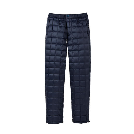 Taion Unisex Down Trousers Warmer and yet lighter – thanks to rare, high-quality down insulation. From Taion.