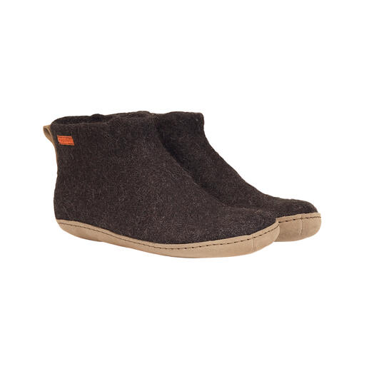Magicfelt Yak Felt Slippers A new feel-good climate thanks to fine yak's wool: Slippers are rarely this soft, light and warm.