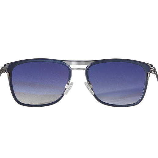 Ted Baker Aviator Sunglasses, Cool Blue