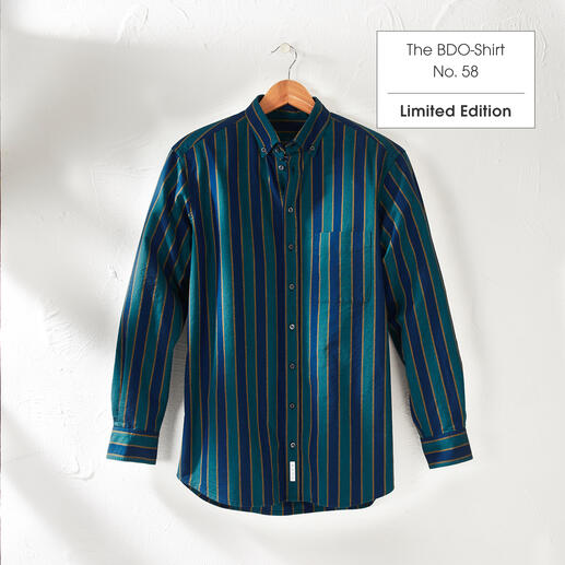 The BDO-shirt, Limited Edition No. 58, Regular Fit Meet a good old friend. And forget that shirts always need ironing.