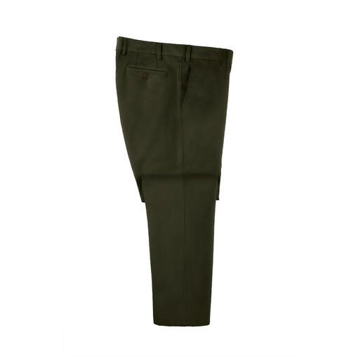 Moleskin Five-Pocket Rare find: These moleskin winter trousers. Velvety soft and nearly windproof. Made from breathable cotton.