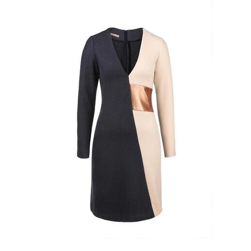 Papaya & Bamboo Winter Dress Wonderfully warm and yet never bulky. Timelessly clean-cut and yet unmistakably feminine.