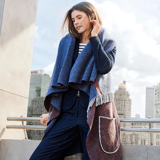 T-Jacket Poncho Waistcoat