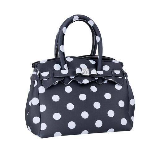 Ultralight Mini Bag, Dots Classic look, innovative material: This ultra-light handbag weighs only 215g (7.6 oz).