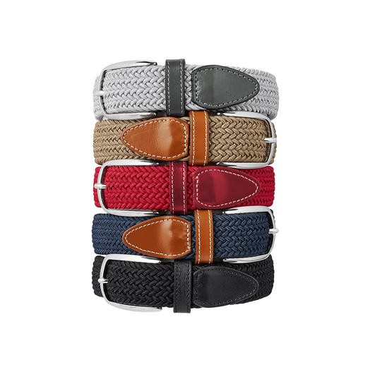 Elasticated Belt, Men Brilliantly comfortable belt. Infinitely adjustable and elastic.