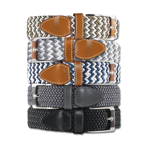 Belts' Elasticated Belt, Ladies Infinitely adjustable and elastic.
